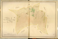 Section I dite de la Montagne de Longes, feuille n°4 : section attribuée à Longes en 1849