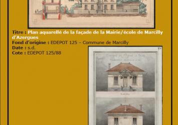 Dossier pédagogique, archives départementales